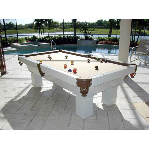 The caesar outdoor pool table recrooms of central florida for Garden pool table room