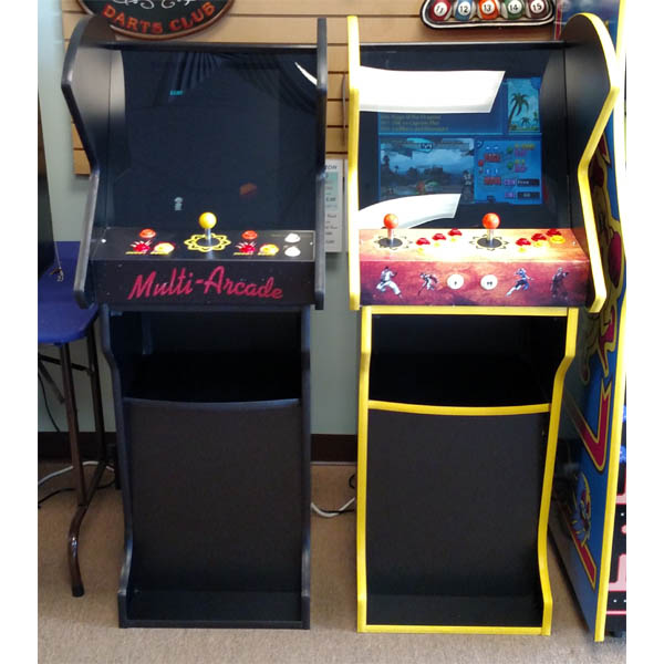 Multi Arcade Pedestal Cabinet & 60 in 1 Multi-Arcade game u2013 RecRooms of Central Florida