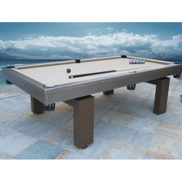 The South Beach Outdoor Pool Table