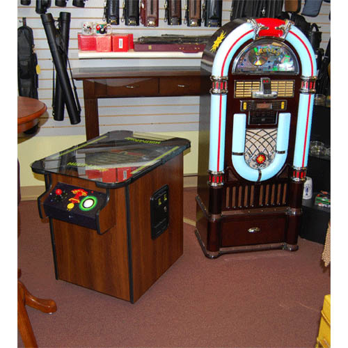 Wood Grain Cabinet. Goes Nice with a Juke Box