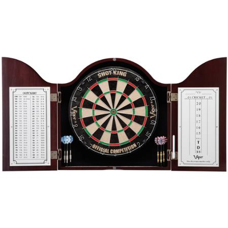 Cambridge Mahogany Dartboard Cabinet
