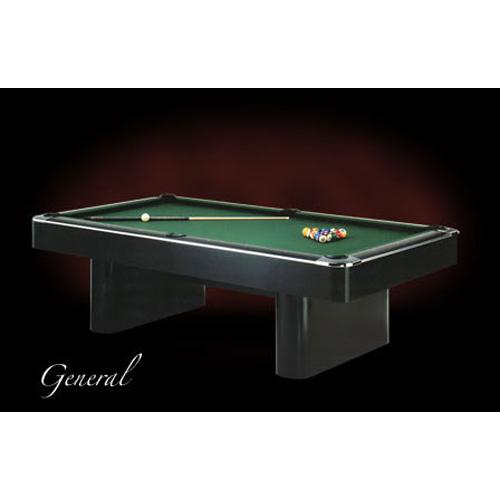 General Pool Table in Black High Pressure Laminate.