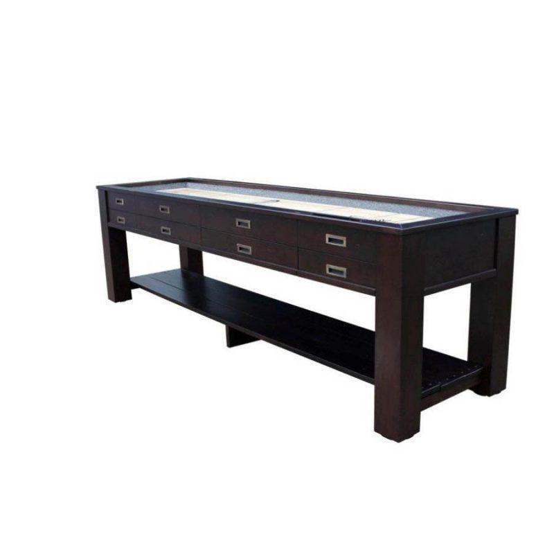 Vail shuffleboard sofa table recrooms of central florida for Sofa central table