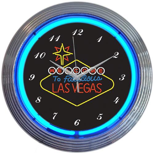 Las Vegas Neon Clock