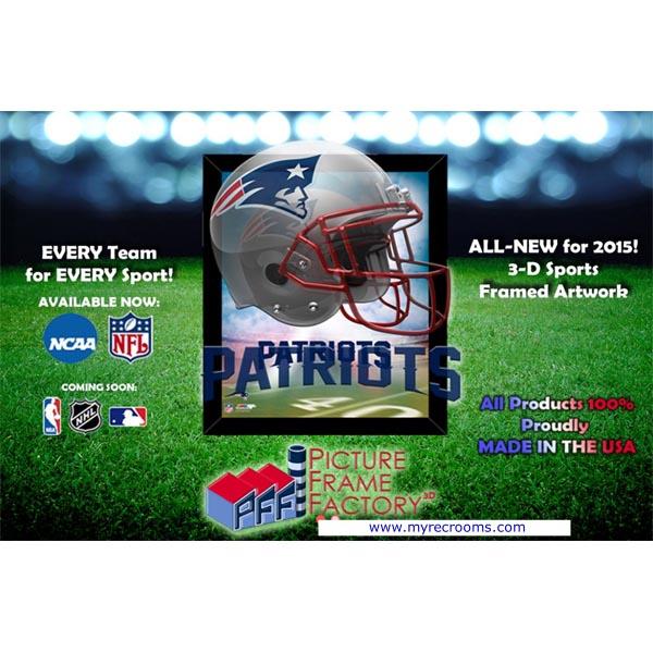 Officially Licensed 3-D Lenticular Sports Artwork