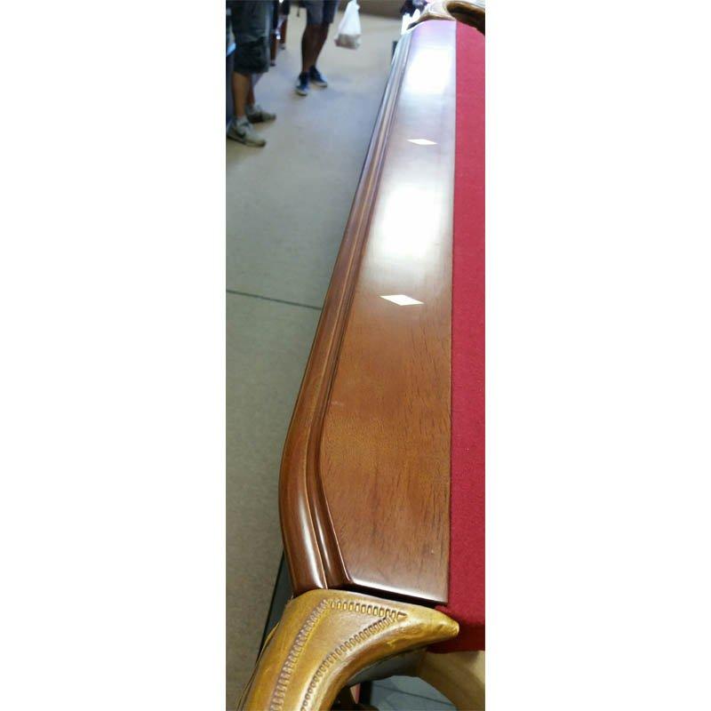 8' USED THOMAS AARON SLATE POOL TABLE