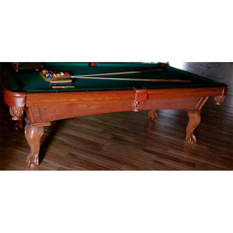 8 used olhausen slate pool table recrooms of central for 1 slate pool table