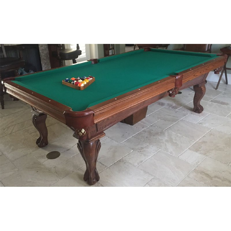8 used olhausen slate pool table recrooms of central for 1 inch slate pool table
